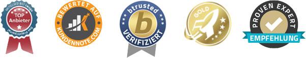 Auszeichnungen SEO Optimierung & Kundenfeedback Content Marketing Strategie
