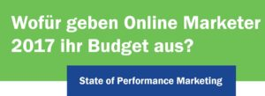 Budgetverteilung Online Marketing