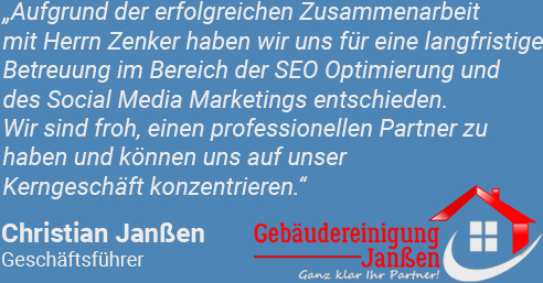Christian Janßen SEO Website