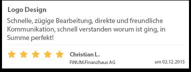 Christian L. FiNUM.Finanzhaus AG Logo Design Tom Phillip Zenker Mediengestalter