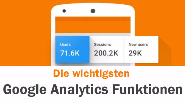 Google Analytics Funktionen