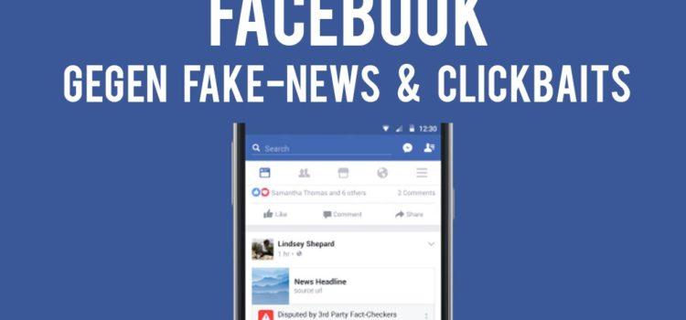 Facebook: Gegen Fake-News & Clickbaits mit neuem Algorithmus