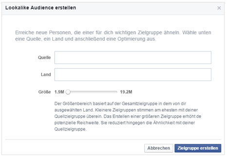 Facebook Marketing Lookalike Audiences