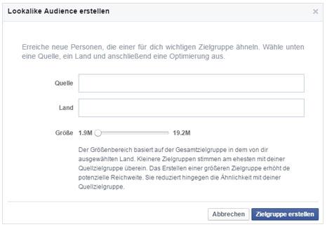 Facebook Marketing Lookalike Audiences