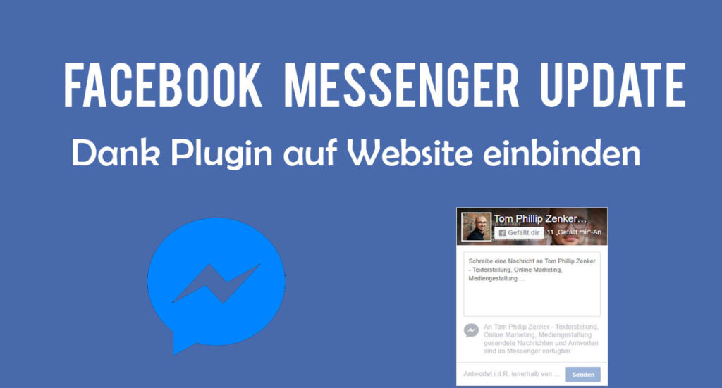 Facebook Messenger Plugin Website