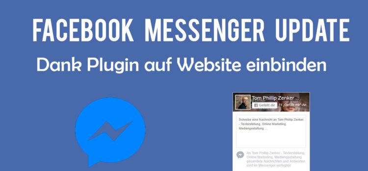 Facebook Messenger dank Plugin auf Website einbinden