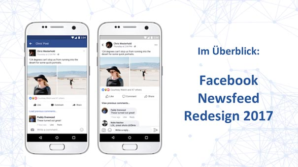 Facebook Newsfeed Redesign 2017: Alles zum FB Update