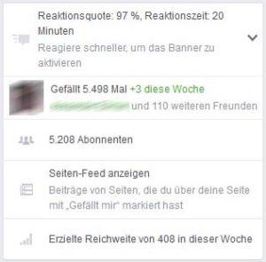 Facebook die letzten Likes anzeigen lassen