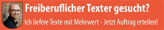 Freelancer SEO Texter