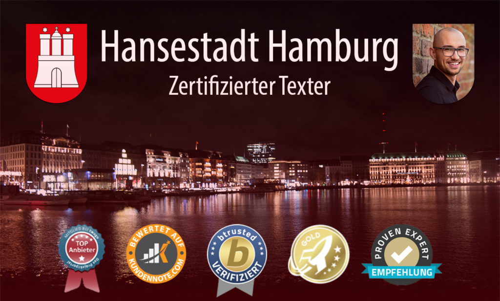Freelancer: Freier Texter & Ghostwriter in der Hansestadt Hamburg. SEO Texte,Website Texte, Unique Content für HH.