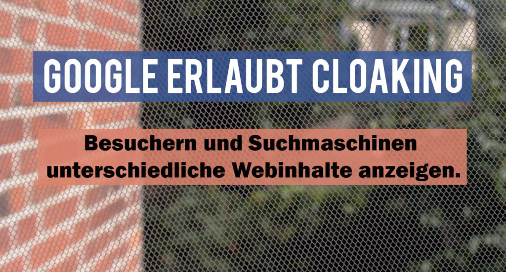 Google Cloaking für Publisher mit Paywall