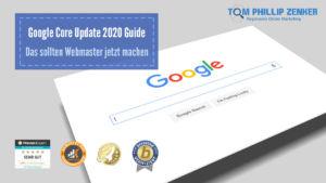 Google Core Update 2020 Guide