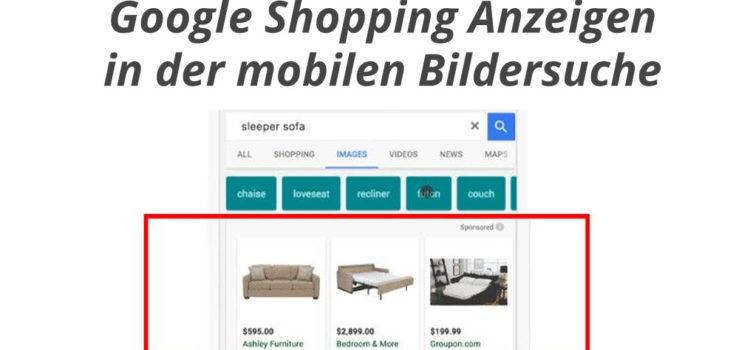 Google erweitert Bildersuche um Shopping Ads
