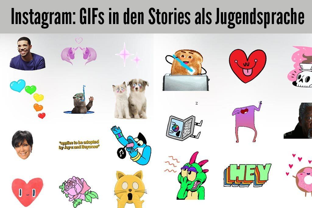 Instagram GIFs Stories