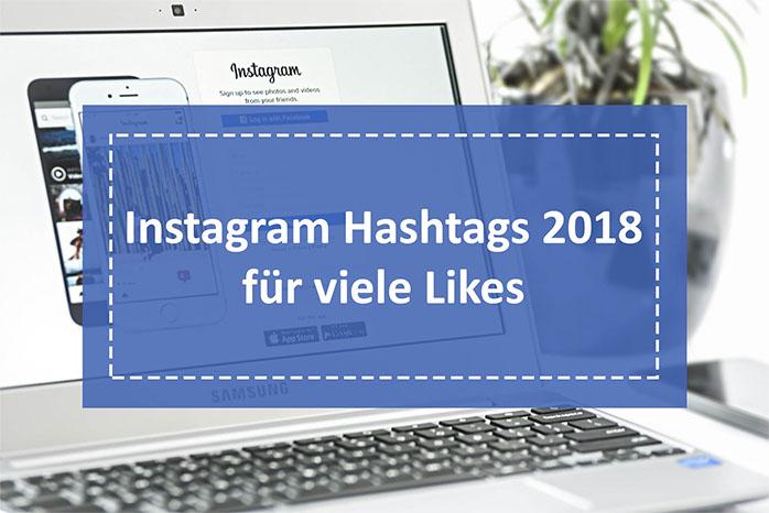 Instagram Hashtags für viele Likes 2018