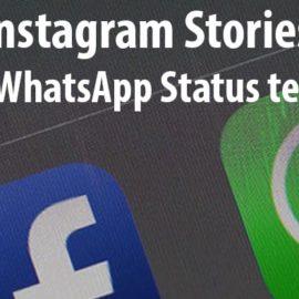Instagram Feature in Brasilien: Stories als WhatsApp Status teilen