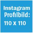 Instagram Profilbild Größe