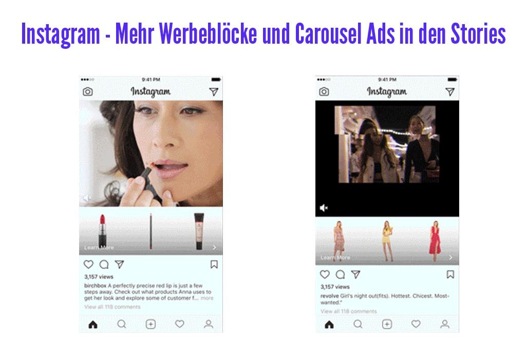 Instagram Carousel Ads & Collection Ads