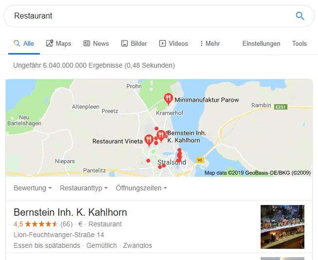 Local SEO Google Maps