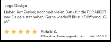 Michele C. BC Hotel und Beratungsgesellschaft city Hotel Bonn Meckenheim Logo Design Tom Phillip Zenker Mediengestalter