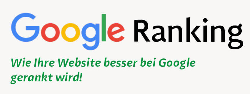 SEO: Google Ranking verbessern
