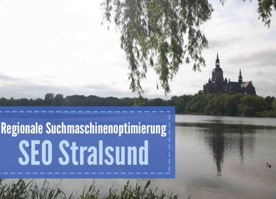 SEO Stralsund - Regionale Suchmaschinenoptimierung