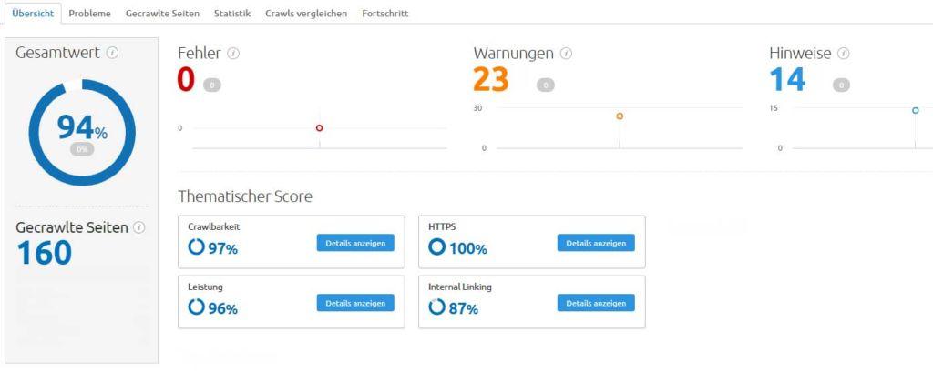 SEO Webseite analysieren Stralsund