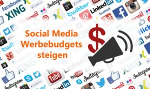 Investitionen in Social Media Werbung steigen