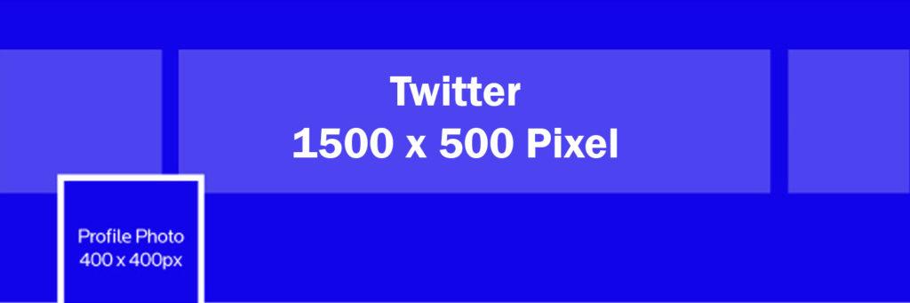 Twitter Größe Profilbild