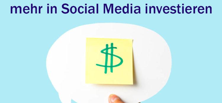 38 Prozent der Unternehmen wollen mehr in Social Media investieren