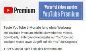 YouTube Premium: Videos werbefrei gucken