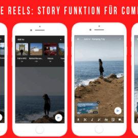 YouTube Reels: Story Funktion für Community