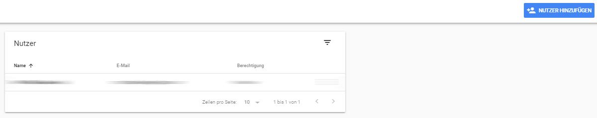 Google Search Console Nutzer hinzufügen