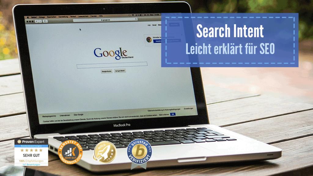 Google Search Intent Suchintention SEO