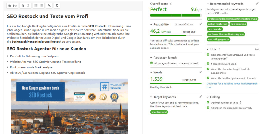 SEO Manager Rostock