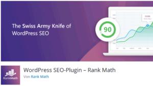 WordPress SEO Plugin Rank Math einrichten und installieren
